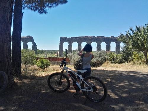 Private bike tour of Rome