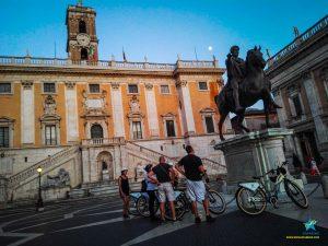 Tour Roma panoramico - piazza del Campidoglio