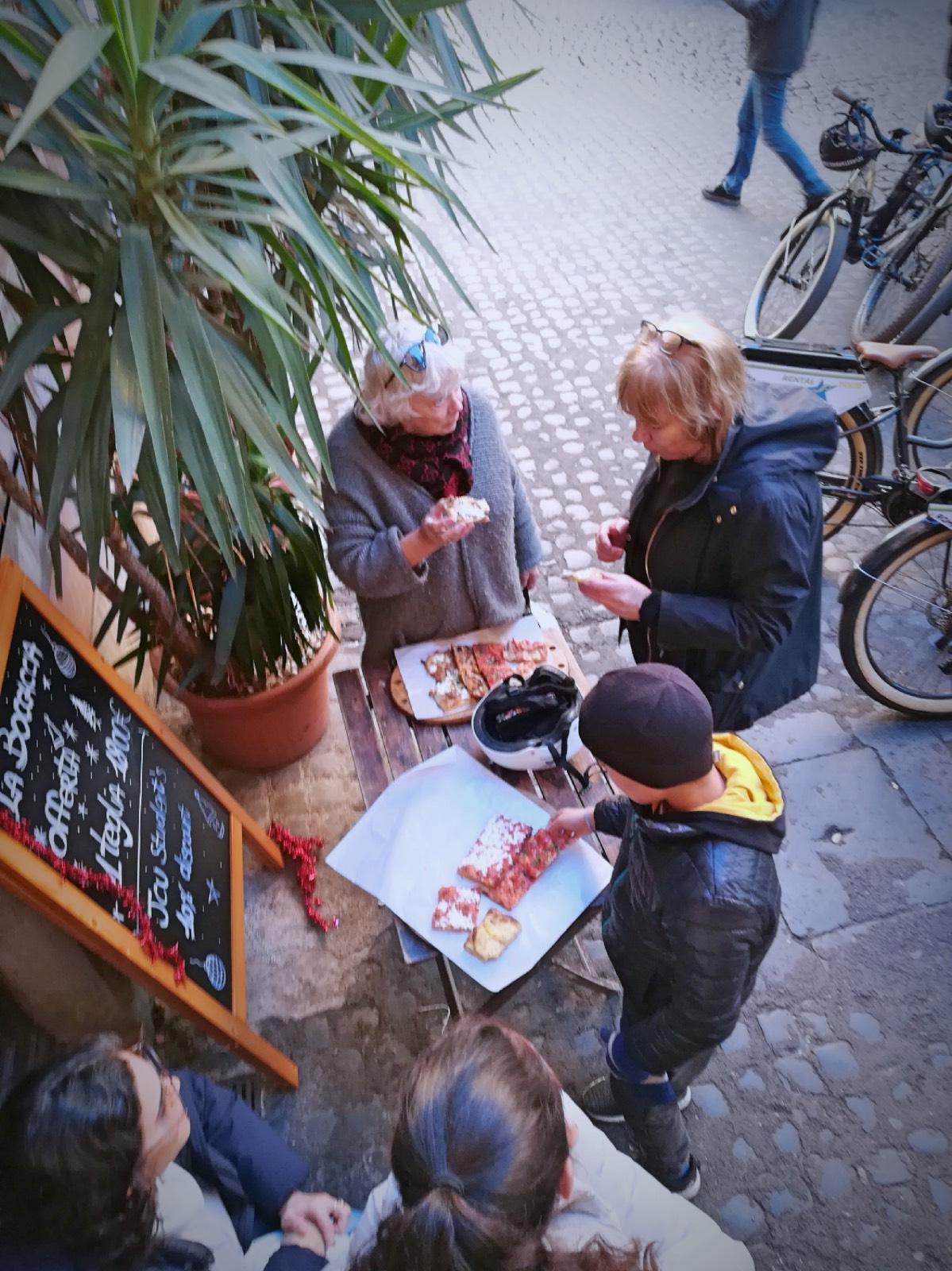 long weekend April 25 Rome, bike tours in Rome