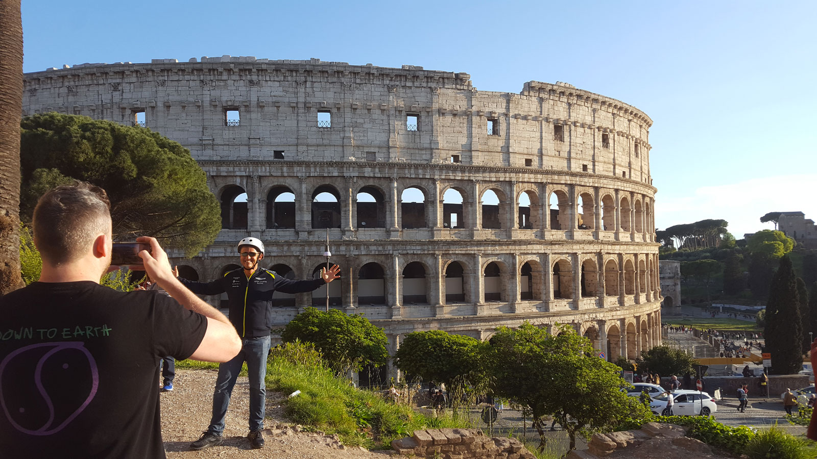 Electric bike tour of Rome