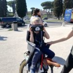 Rome bike tour with children with virtual reality