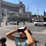 Rome Bike Tour with 3D Virtual Reality glasses