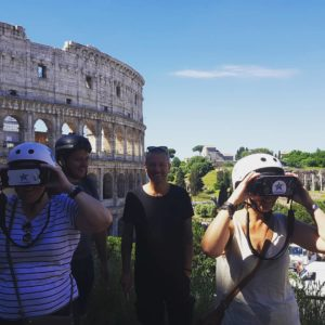 Rome Bike Tour in June