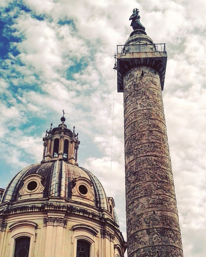 Summer in Rome - Trajan column