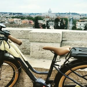 Rome bike Tours with electric bike