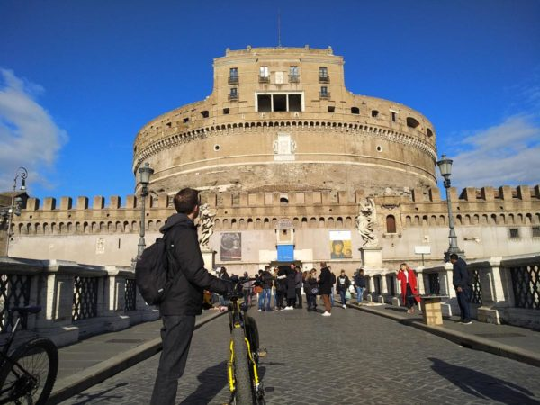 Rome Bike Tours & Rental - Castel Sant'Angelo