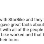 Rome bike tours feedback