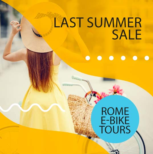 September sales on Rome ebike tours