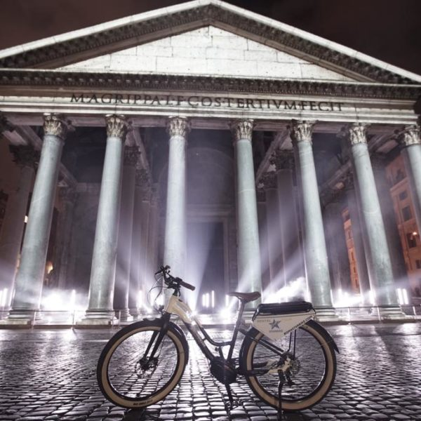 Rome e-bike tour by Night Light Festival