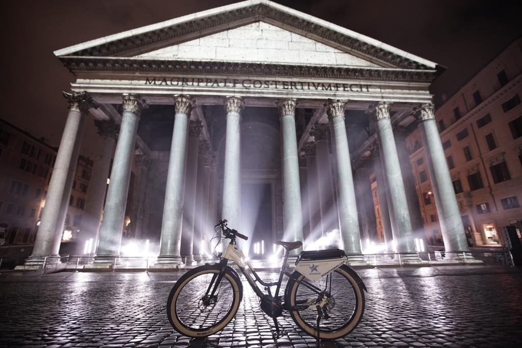 Rome e-bike tour by Night Light Festival