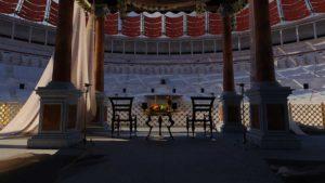 Ricostruzione in 3D interni Colosseo in Realtà Virtuale